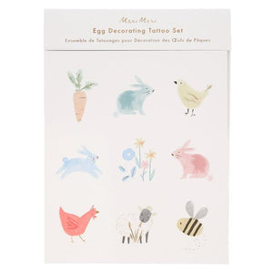 Spring Bunny <br> Egg Decorating Tattoo Kit