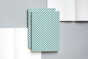A5 Layflat Notebook - Forest Green