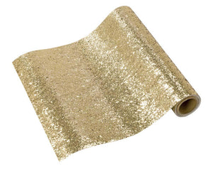 Luxe Gold Glitter <br> Table Runner