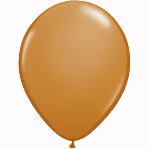 "11"" Mocha Brown Balloons (6 pcs)"