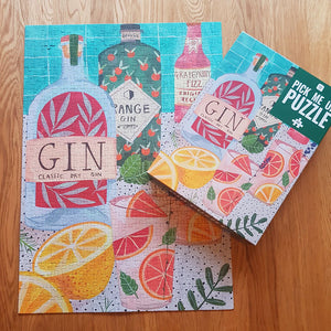 Gin <br> 500 pc Jigsaw Puzzle