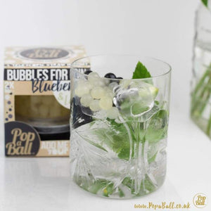 Pop a Ball Bursting Bubbles for Gin - Blueberry & Lemon