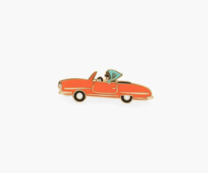 Car <br> Enamel Pin