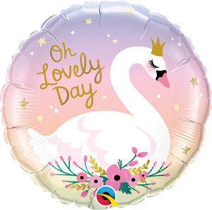 Ombre Swan <br> Oh Lovely Day