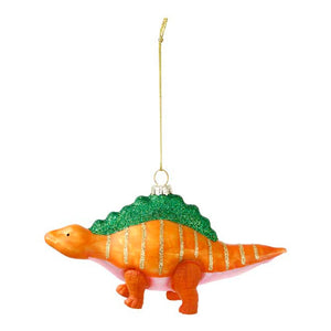 Glass Dinosaur <br> Tree Decoration