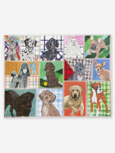 Dog Breeds  <br> 1000 pc Jigsaw Puzzle