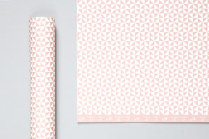 Clay Pink Print <br> Gift Wrap Sheet