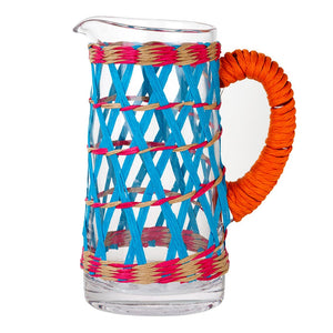 Boho Glass Jug