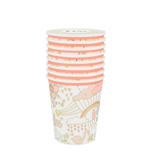 Charming Doodle <br> Cups (8)