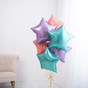 Inflated Bunch Of <br> Foil Stars