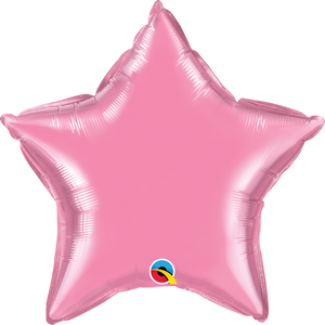 Personalised Rose <br> Star Balloon