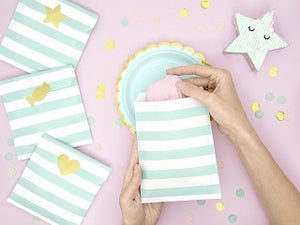Yummy Colours Treat Bags ~ Mint Green