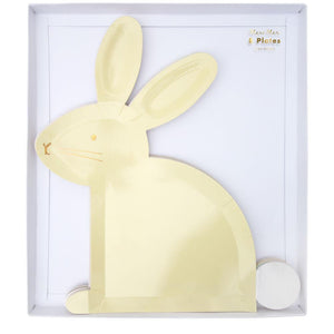 8 Assorted Bunny Plates