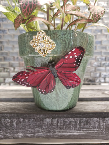 Sassy Soul Sister - Custom Pottery - Outdoor