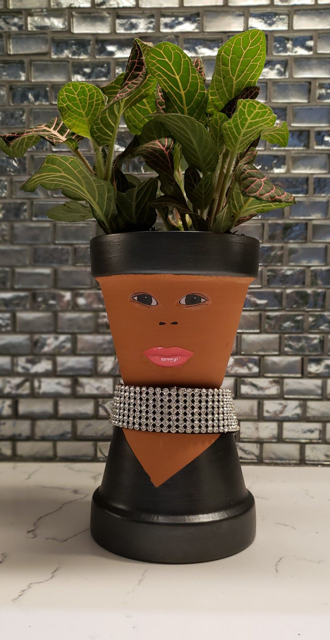 Sassy Soul Sister - Custom Pottery - Indoor