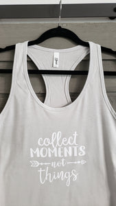 T-Shirt - Collect Moments Not Things - Womens - Vinyl