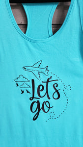 T-Shirt - Lets Go - Womens - Vinyl