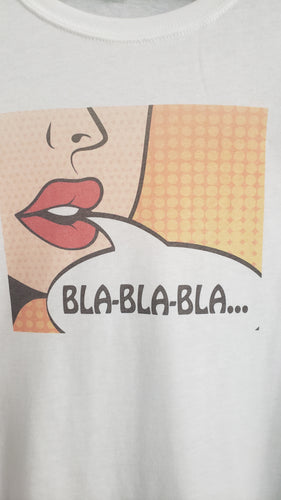 T-Shirt - Bla Bla Bla - Womens - Color