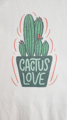 T-Shirt - Cactus Love - Womens - Color