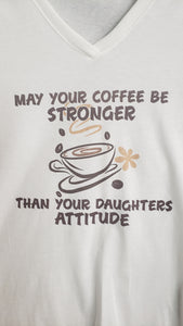 T-Shirt - Daughter's Attitude - Womens - Color