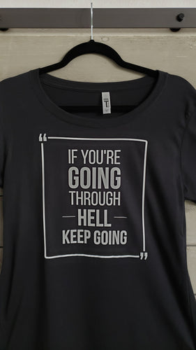 T-Shirt - Keep Going - Men - Vinyl