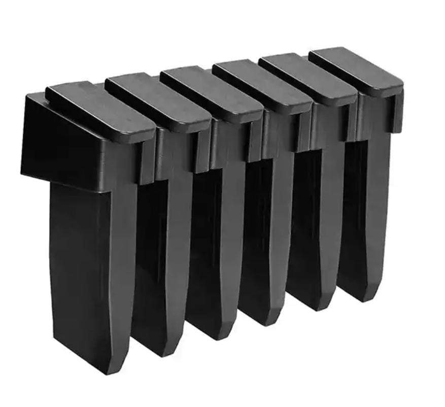 "Detachable Wall Mounted Std PMAG Storage/Holder - 1.6"" x 1.9"" x 1.4"""