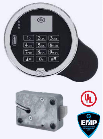 SG3006-502, NexusIP (Internet Protocol)  Pivotbolt (Swingbolt), with Satin Chrome Keypad, Complete Lock Package