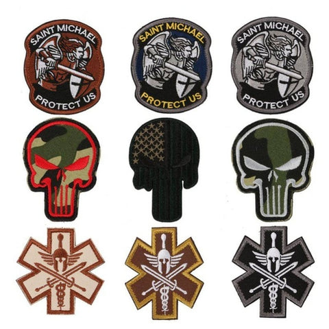 Embroidered Patches - Airsoft Outfitter