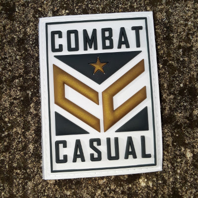 Combat Casual PVC Patch