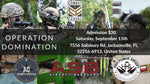 Operation Domination Admission Ticket