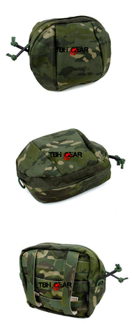 TMC Billowed Utility Pouch Multicam Tropic