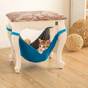 50% OFF Today----Cat Hammock Bed(A SAFE & Comfy Bed to Hide Out & Nap)