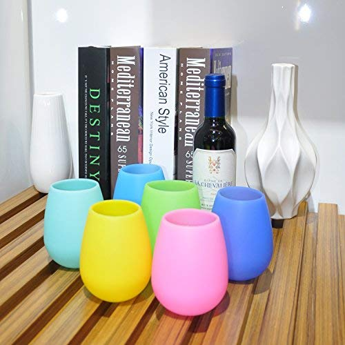 Unbreakable Silicone Wine Glass For Parties