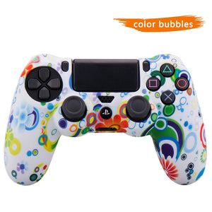 BUY 3 GET 1 FREE-PS4 Controller Cover Silicone Gel Protector Skin Soft case for PS4/PS4 Slim/PS4 Pro