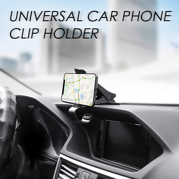 50% OFF TODAY...Universal Car Phone Clip Holder-Promotion End Within Next 12 Hours