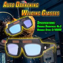 2019 Newest Solar Automatic Photoelectric Welding Glasses