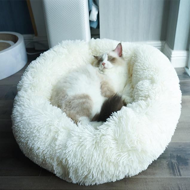 60% OFF! Fur Pet Bed-Detachable & washable