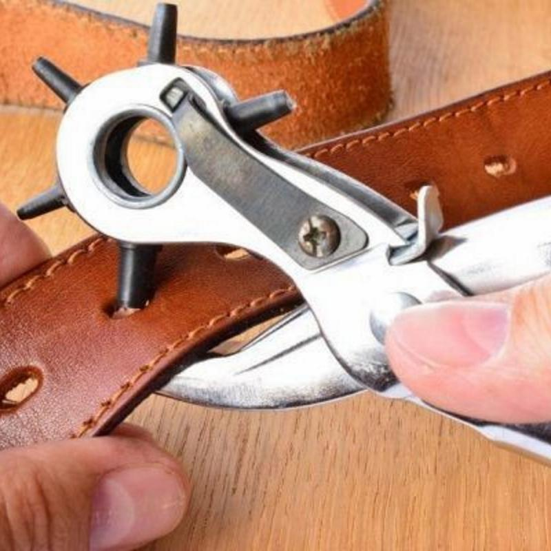 NEW | BTR® HOUSEHOLD REVOLVING LEATHER HOLE PUNCHER