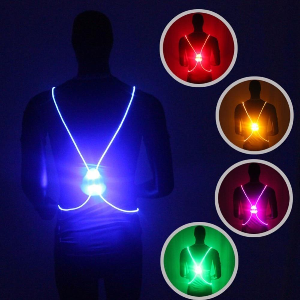 LED Reflective vest for Runners/ Cyclists