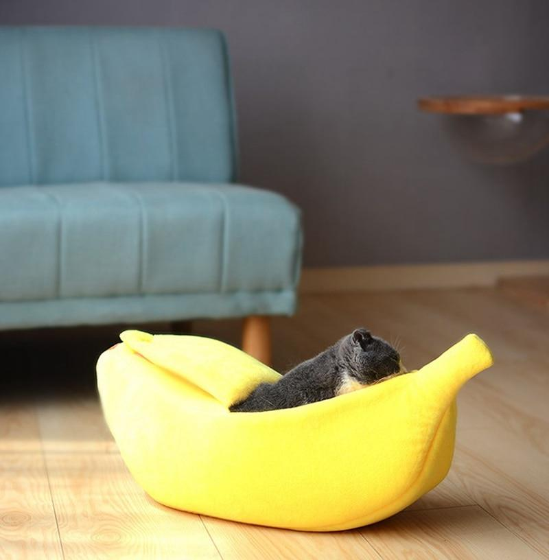 Banana Peel Cat House