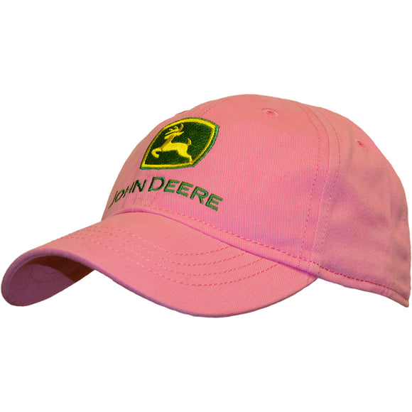 Girls Toddler Pink John Deere Cap