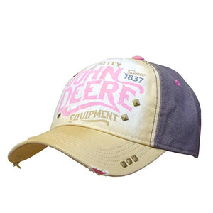 John Deere Womens Distressed Cap
