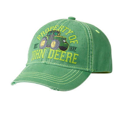John Deere Boy Toddler Cap Green