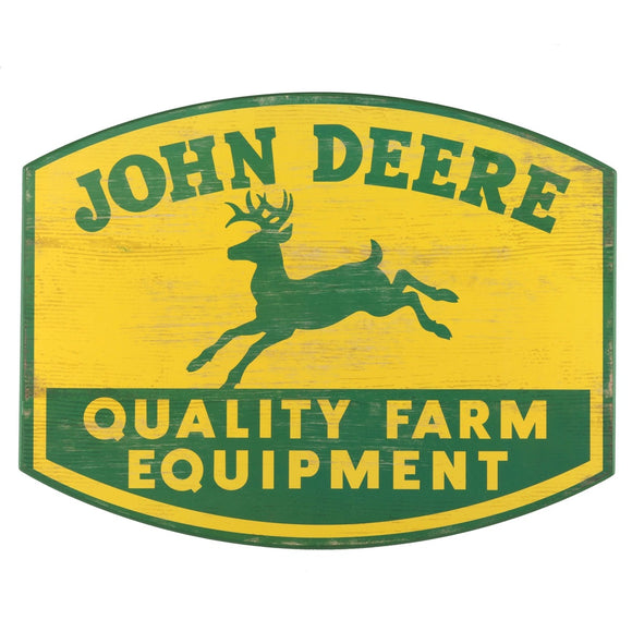 Retro John Deere Quality Farm Equipment Sign