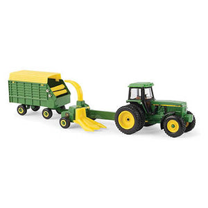 1/64  John Deere Forage Harvesting Set