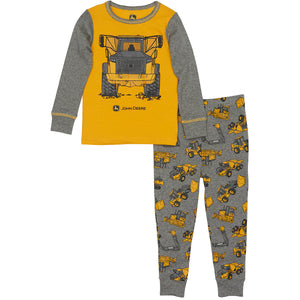 John Deere Boy Child Construction PJ Set
