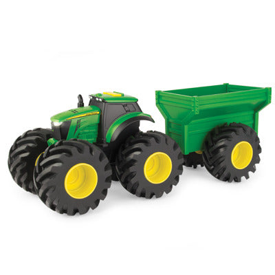 Monster Treads Tractor and Wagon