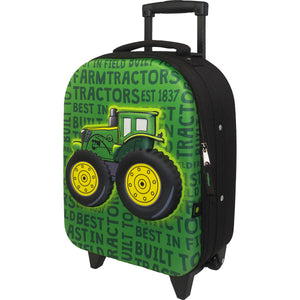 John Deere Boy Child Tractor Pull Bag Green