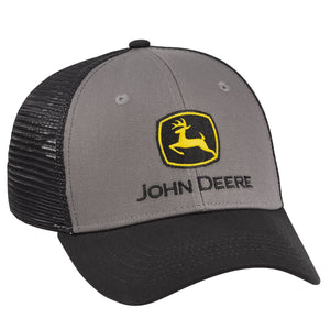 John Deere Construction Cloth/Mesh Cap