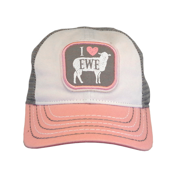 John Deere Toddler I Love Ewe Cap